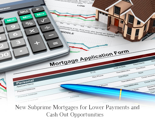 Subprime Mortgage Refinancing, Poor Credit Refinance - cash out refi calculator