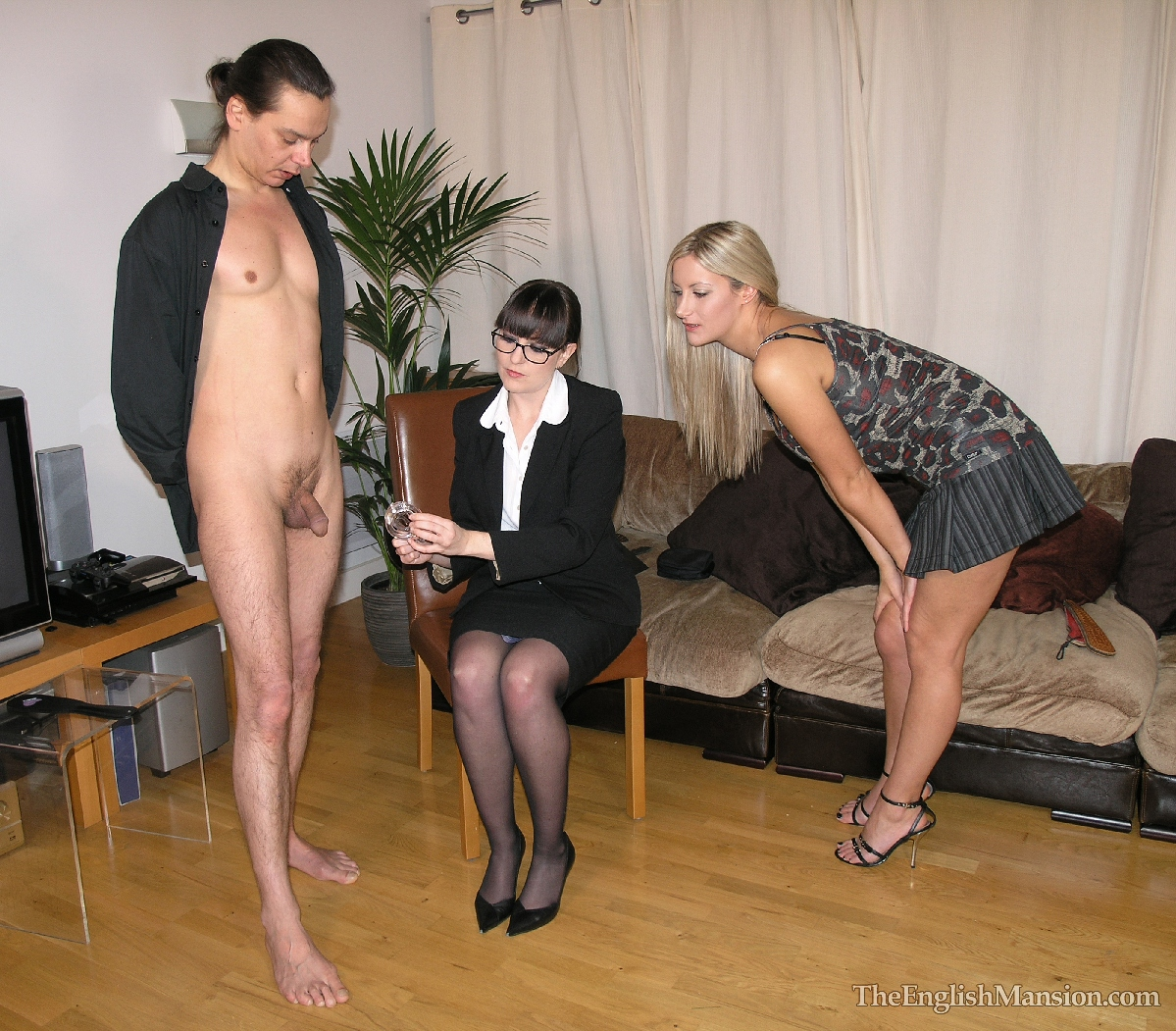 dominant strict women spanking men