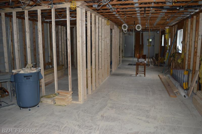 Progress Report Station 9 Renovation Bay District