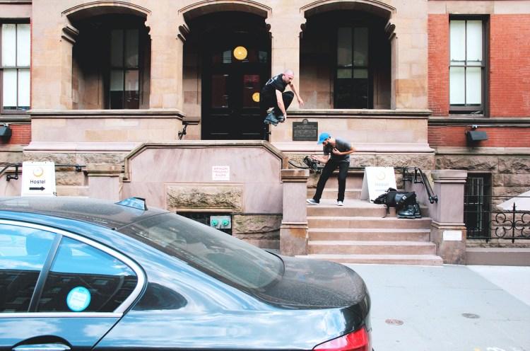 Mute to Pole Tap 180 Photo - Craig Benabu