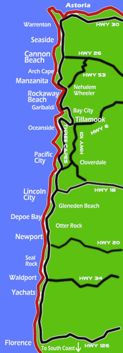Oregon Coast - Travel Guide, Attractions, Virtual Tours, Updates