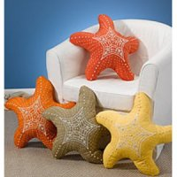 Starfish Shaped Indoor/Outdoor Pillow