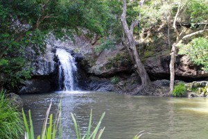 National Park water fall & rock pools