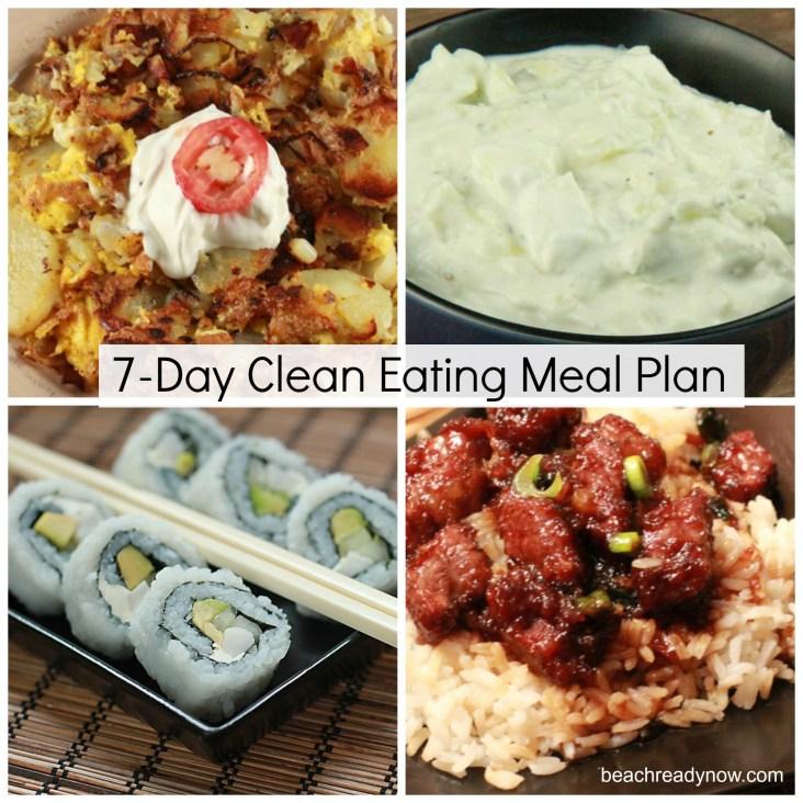 Clean Eating Meal Plan (Week Four)
