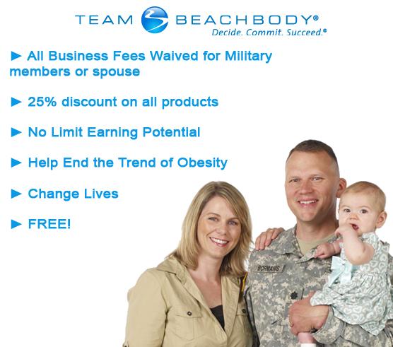 Team Beachbody Military Discount Coaching Fee Waiver