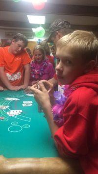 Casino Night at Mom's Camp