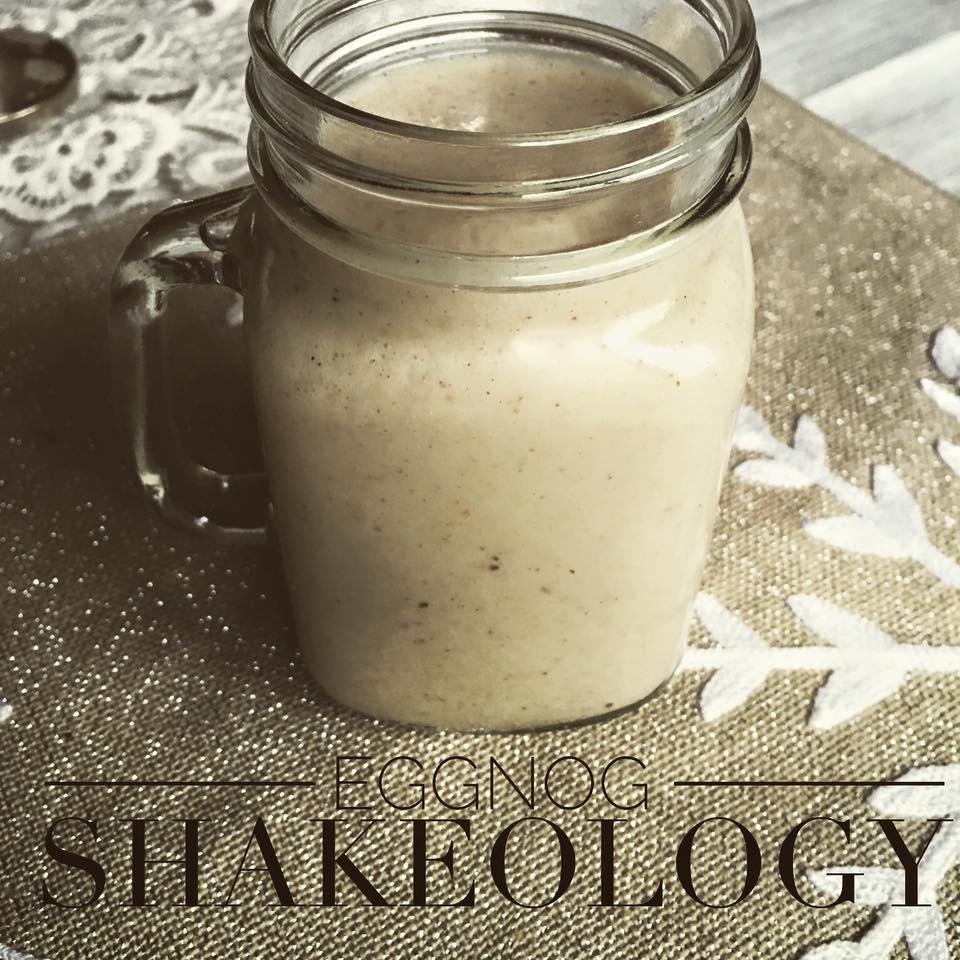 Eggnog Shakeology