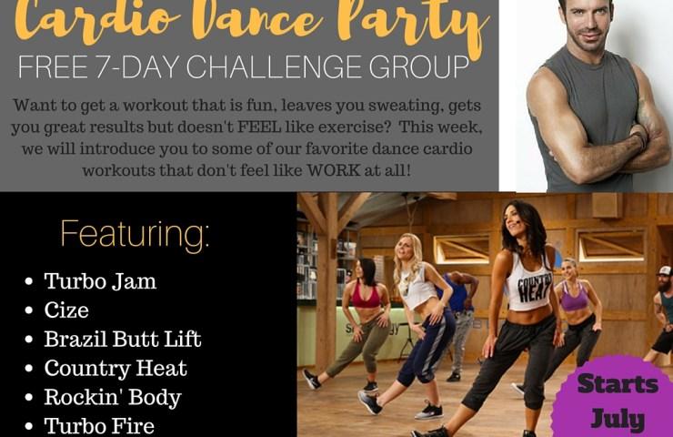 Cardio Dance Party Challenge