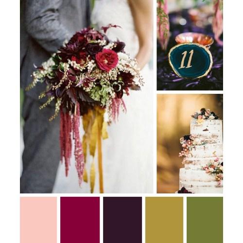 Medium Crop Of Jewel Tone Colors