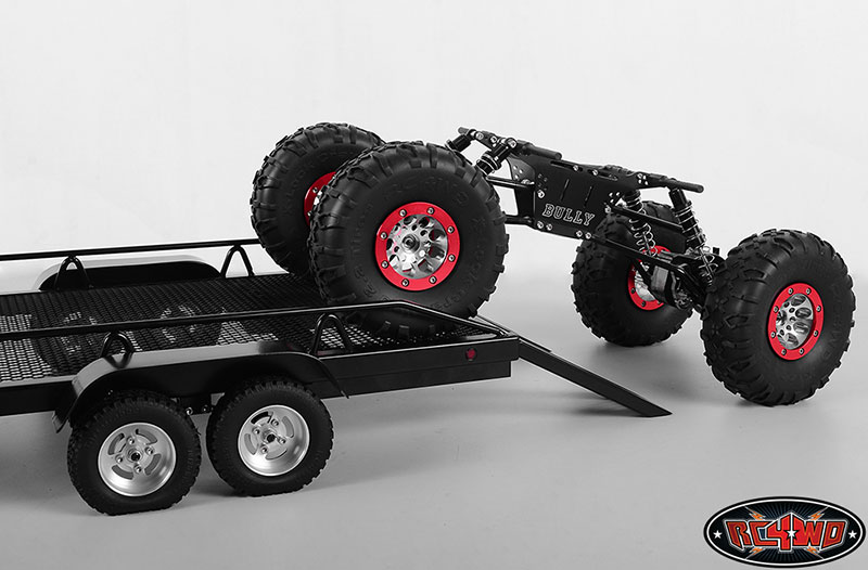 bigdog 1 8 dual axle scale car truck trailer