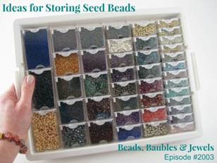 100 ... & Seed Bead Storage Containers - Listitdallas