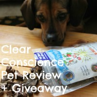 C is for Clear Conscience Pet #atozchallenge + GIVEAWAY