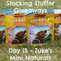 Stocking Stuffer Giveaway Day 13: Zuke's Mini Naturals