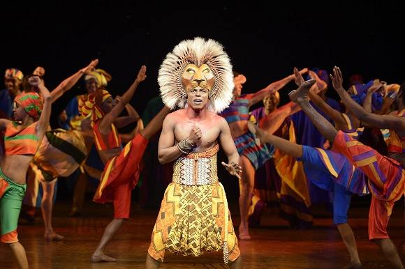 lion king london cast recording