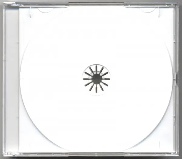 CD case Zub CD multipack with white Tray for 4 CDs - Bear Family