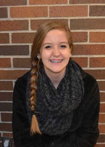 """""""I think we celebrate it in a positive way to give thanks for everything we have in our life."""" Freshman Greer Thompson"""