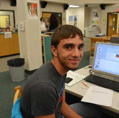 """""""It's to give thanks for what we have and it affects my life, personally I just go see friends and have a big dinner with friends and family. It's a way to bring people together so you can have a happy time."""" Sophomore Ahmad Diab"""