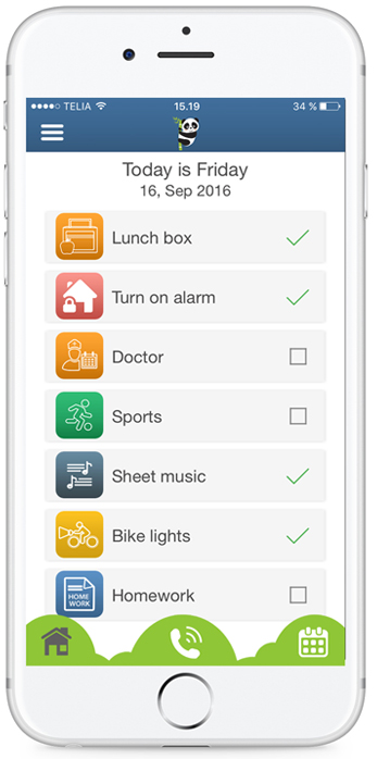 Reminder app  To-Do list - easy fun effective Bear In Mind App
