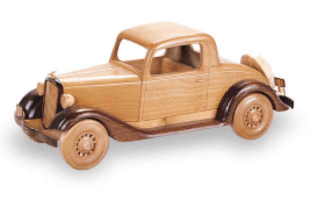 1934 Chevy Coupe 19 Inch Woodworking Pattern