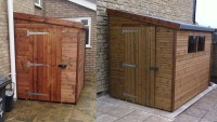 Lean To Sheds - Free Fitting & Delivery - Beastsheds.co.uk