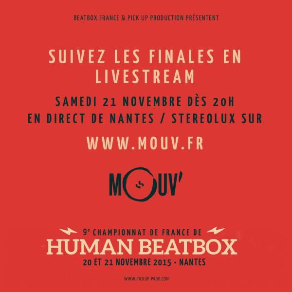Mouv' Livestream 2015