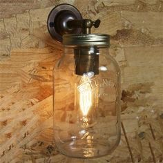 Wall  mounted jamjar