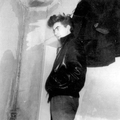 George Harrison at the Bambi Kino, Hamburg, 1960