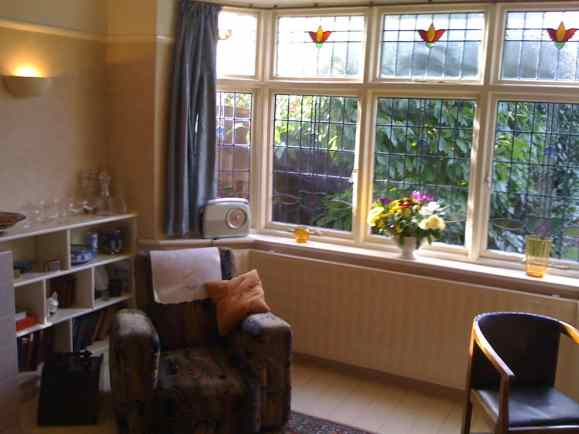 Living room of 'Mendips', 251 Menlove Avenue, Liverpool