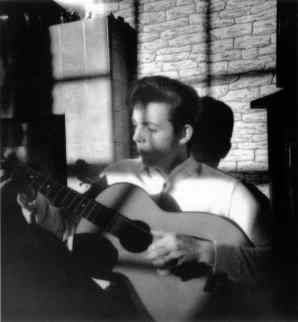 Paul McCartney at 20 Forthlin Road, Liverpool, circa 1960