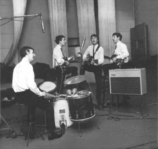The Beatles, EMI Studios, Abbey Road, 4 September 1962