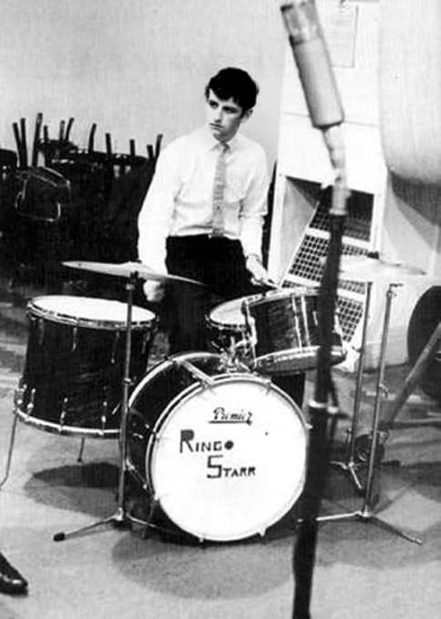 Ringo Starr, EMI Studios, Abbey Road, 4 September 1962