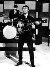 The Beatles performing on Thank Your Lucky Stars, 13 January 1963