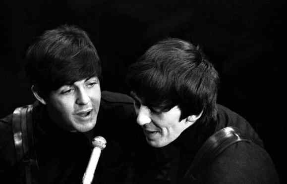 Paul McCartney and George Harrison, Saturday Club, BBC, 17 December 1963