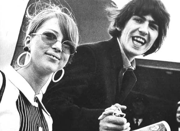 George and Pattie Harrison, 1966