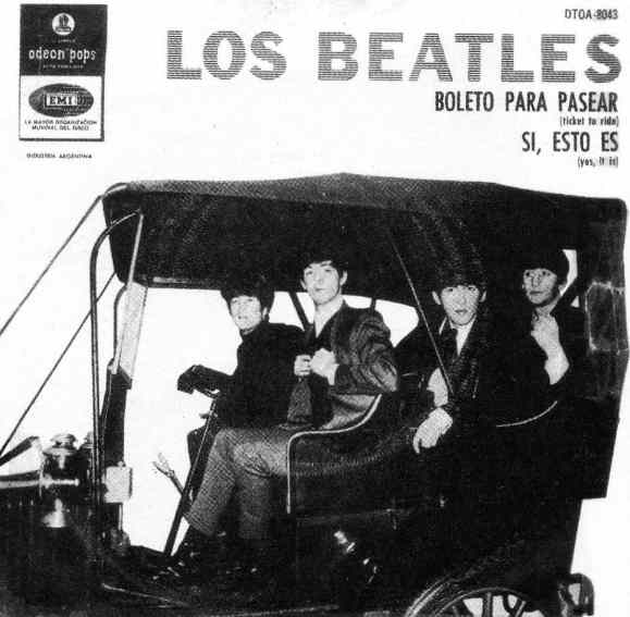 Ticket To Ride single artwork - Argentina