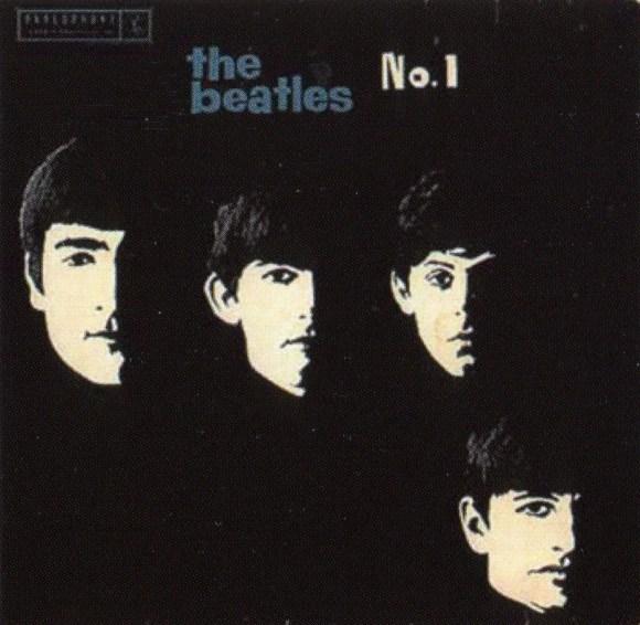 The Beatles No 1 EP artwork - Australia