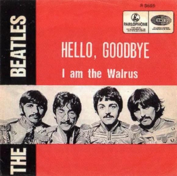 Hello, Goodbye single artwork - Belgium