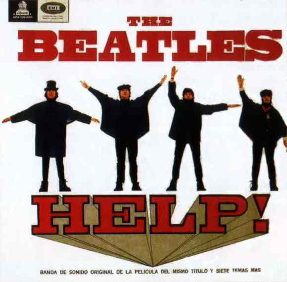 Help! album artwork - Chile