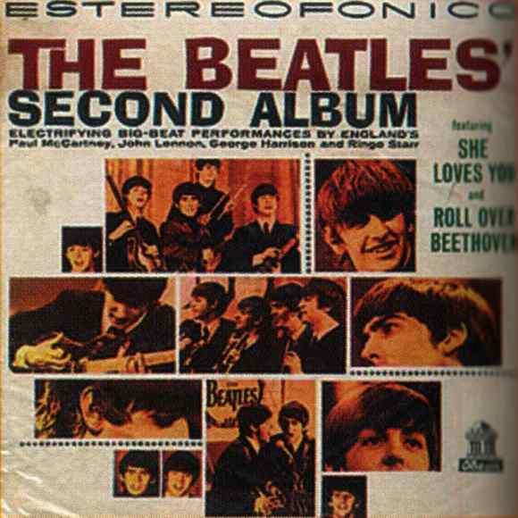The Beatles' Second Album artwork - Colombia
