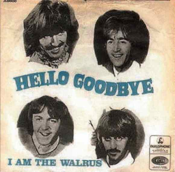 Hello, Goodbye single artwork - Denmark
