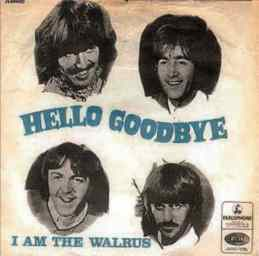 Hello, Goodbye single artwork - Denmark