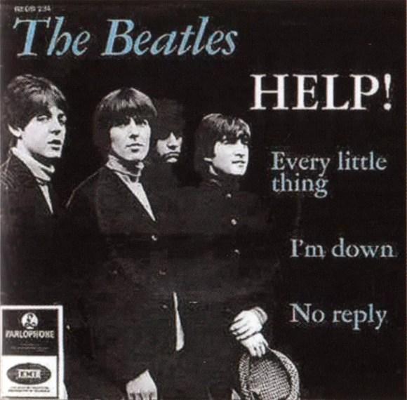 Help! EP artwork - Denmark