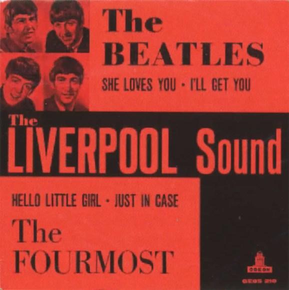 The Liverpool Sound EP artwork - Denmark