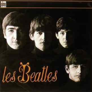 Les Beatles album artwork - France