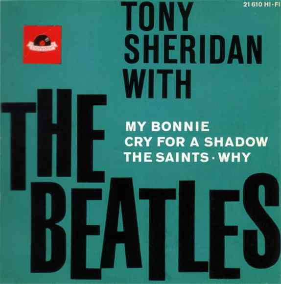 Tony Sheridan With The Beatles EP artwork - Germany