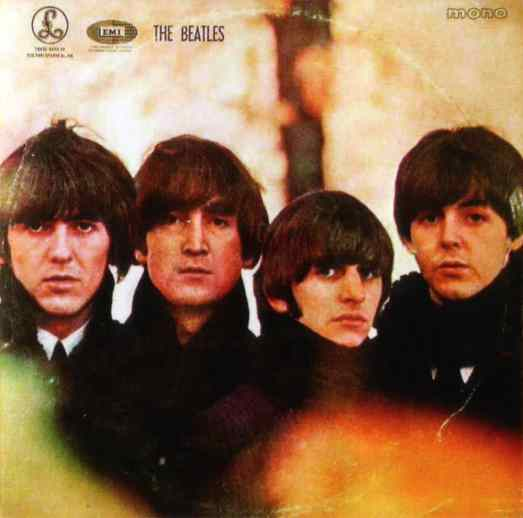 Beatles For Sale album artwork – Greece