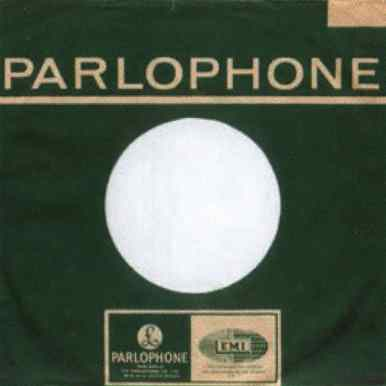 Parlophone single sleeve, 1966-67 - India