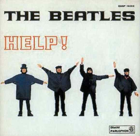 Help! single artwork - Italy