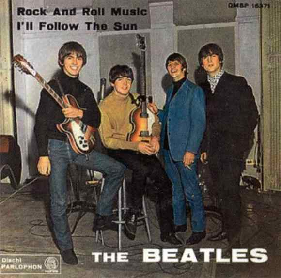 Rock And Roll Music single artwork - Italy