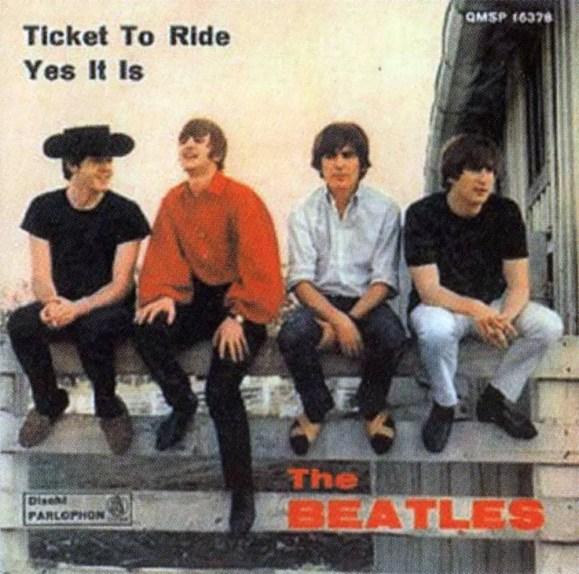 Ticket To Ride single artwork - Italy